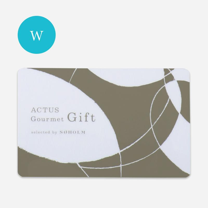 ACTUS Gourmet Gift WATER/ブルー