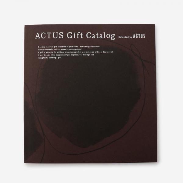 ACTUSギフトカタログ W_R/ワインレッド(リボン)