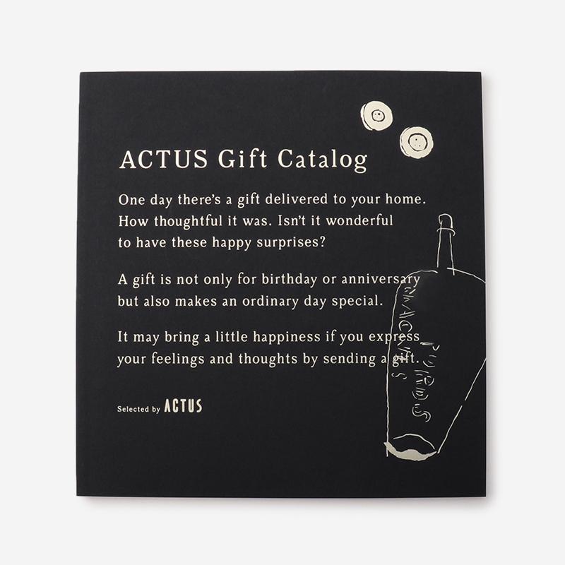 ACTUSギフトカタログ M_B/ミッドナイトブルー(リボン)
