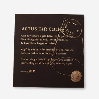 ACTUSギフトカタログ D_B/ダークブラウン(リボン)