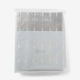 CASUAL COTTON 布団カバー(ダブル) 190×210 PINK HIMALAYA
