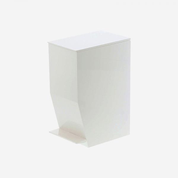 tower ペダル式トイレポット ホワイト