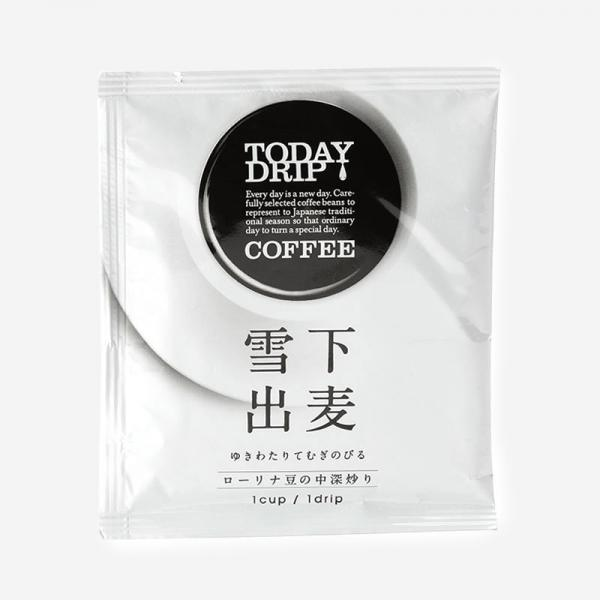 TODAY DRIP COFFEE 雪下出麦(1CUP)