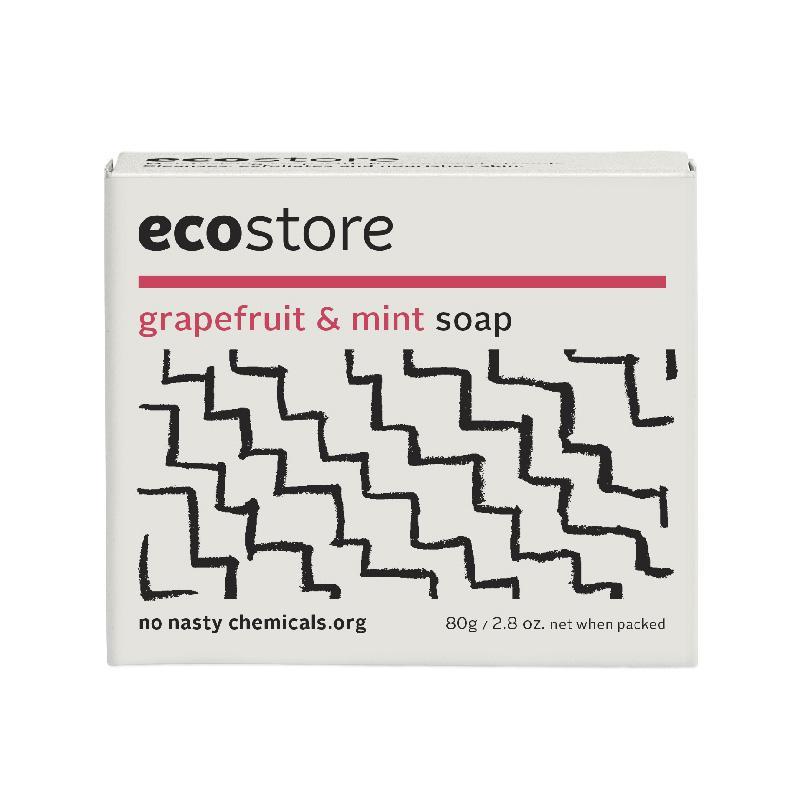 ecostore グレープフルーツ&ミントソープ