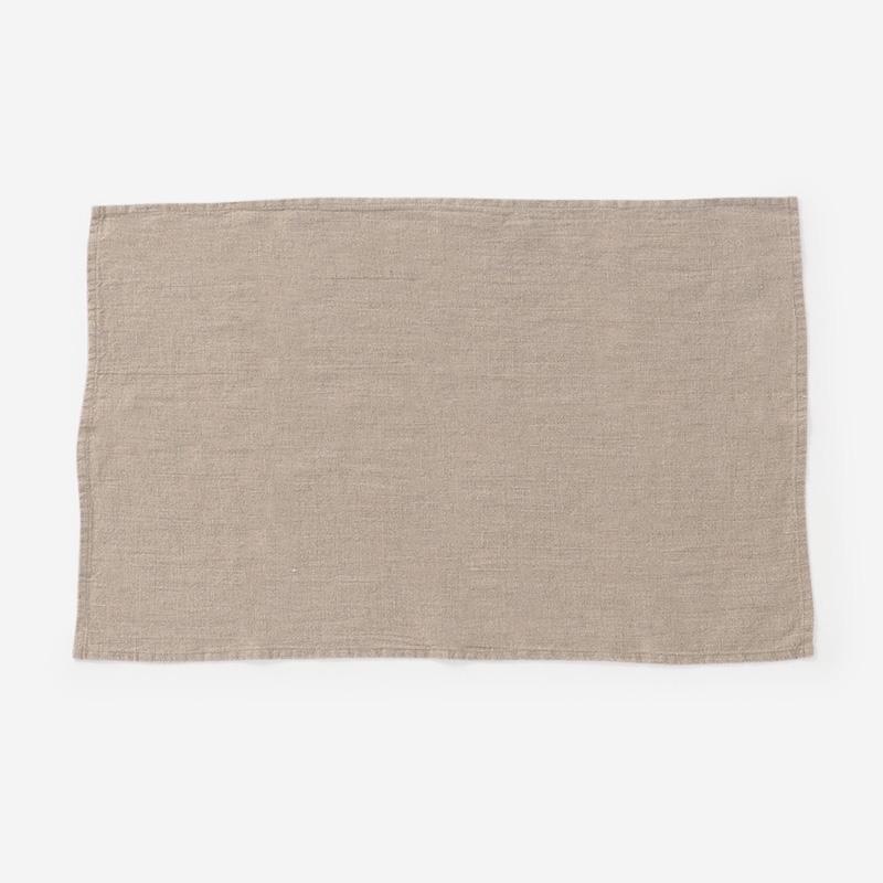 LINEN TALES キッチンタオル 45cm×65cm ナチュラル