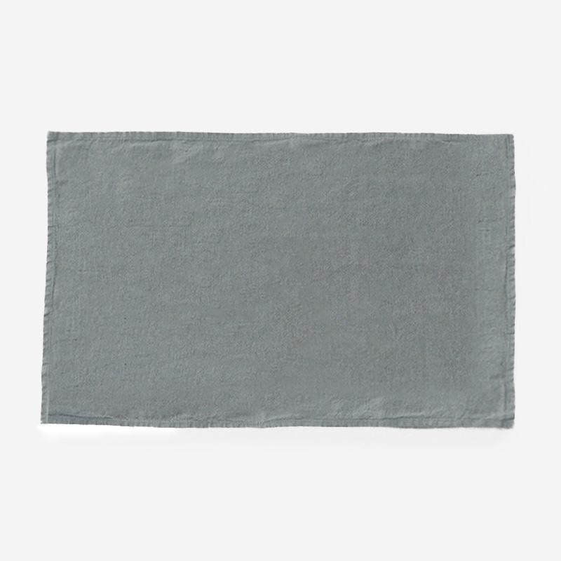 LINEN TALES キッチンタオル 45cm×65cm ブルー