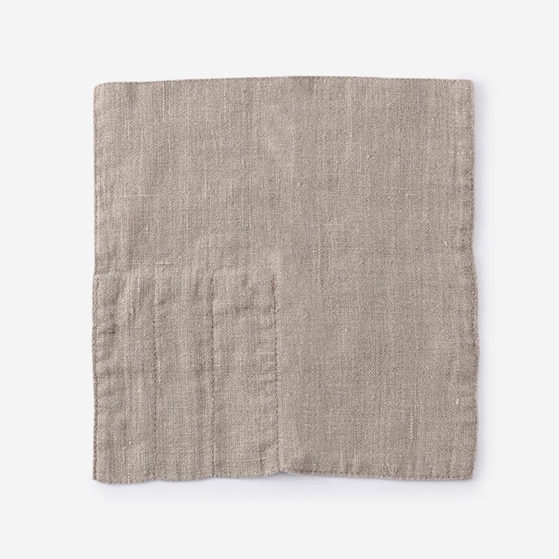LINEN TALES カトラリーポケット 23cm×23cm ナチュラル