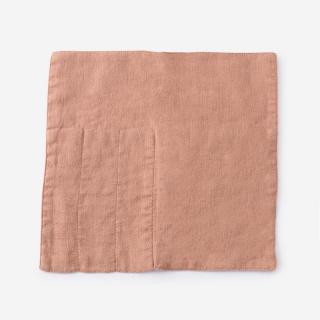 LINEN TALES カトラリーポケット 23cm×23cm ライトオレンジ