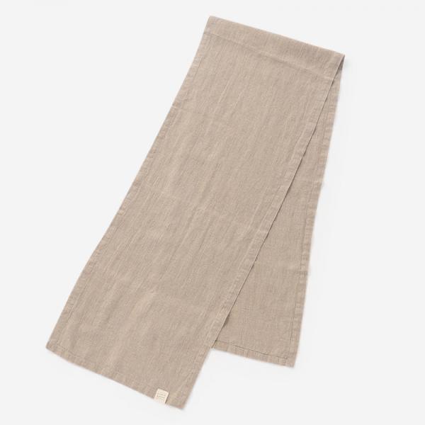 LINEN TALES ランナー 40cm×200cm ナチュラル
