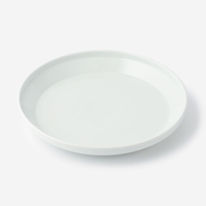 RIMプレート 24cm ホワイト