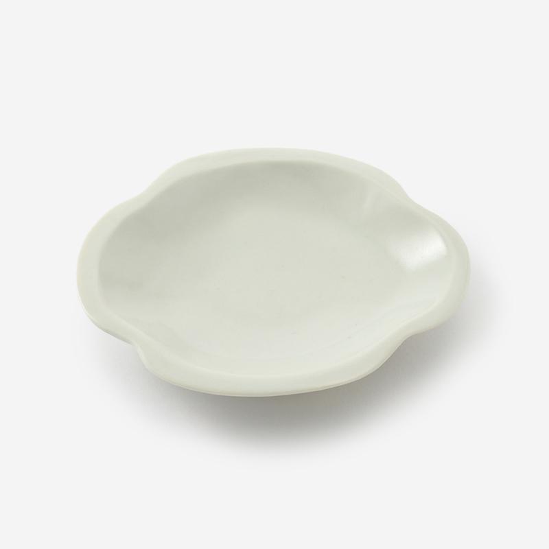 九谷 豆皿 木瓜(楕円)