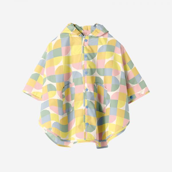 Rain Poncho Mサイズ BLOCK