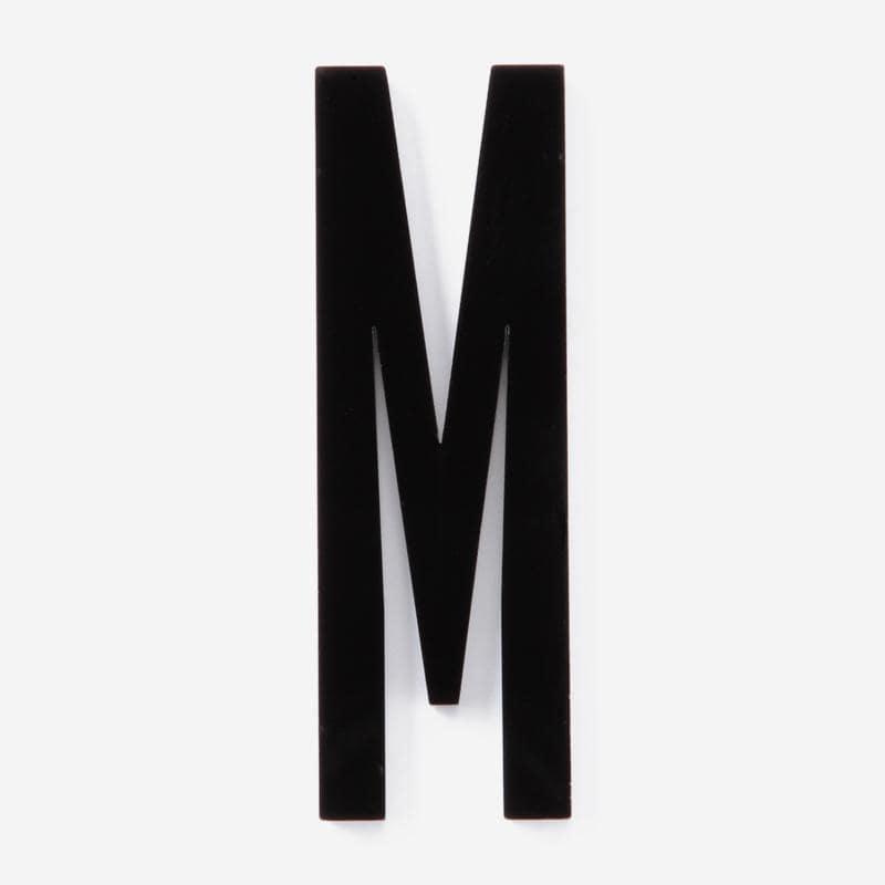 DESIGN LETTERS+e-Types 屋外用レター M