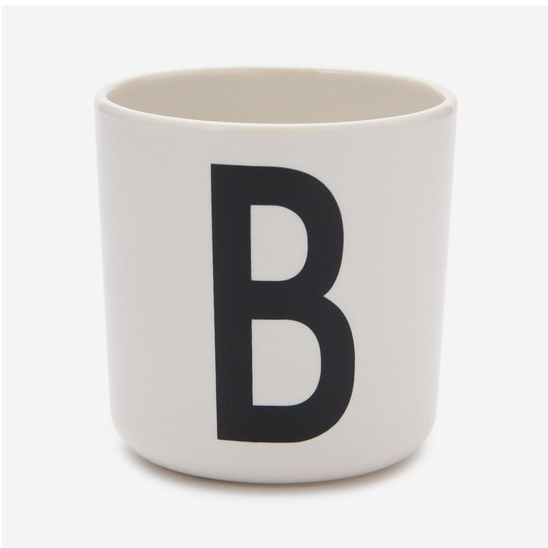 DESIGN LETTERS MELAMINE CUP B