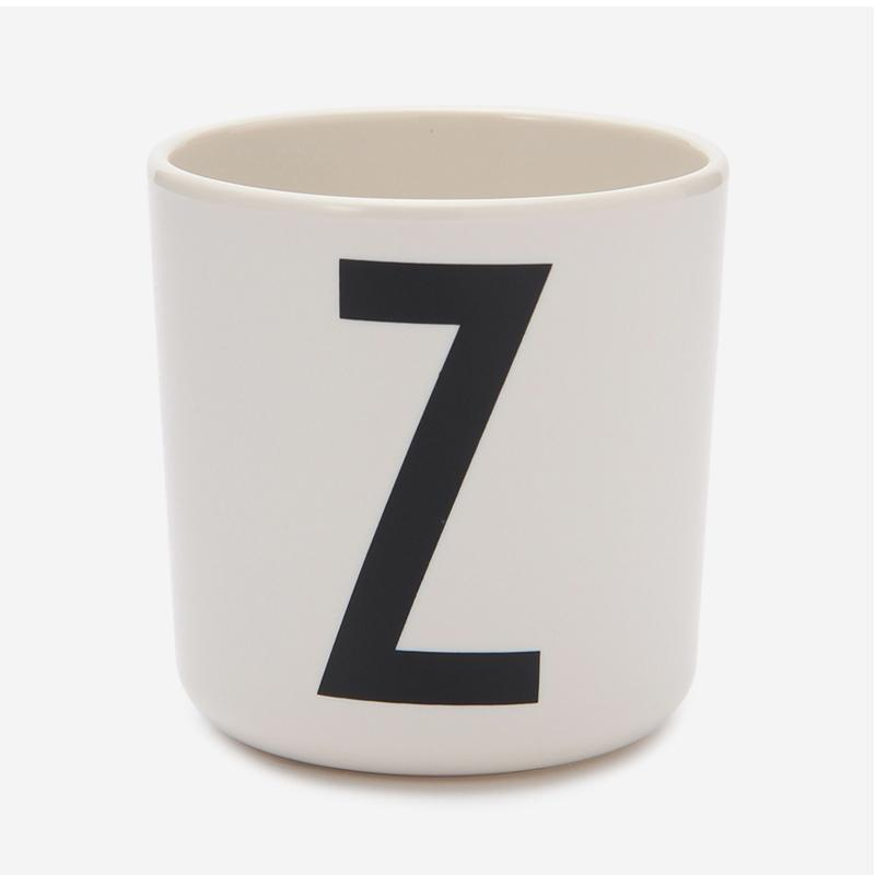 DESIGN LETTERS MELAMINE CUP Z