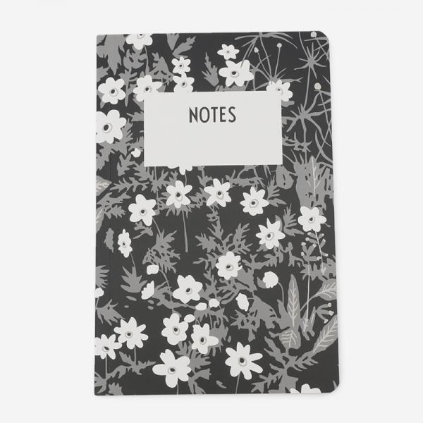 DESIGN LETTERS Flower by Arne Jacobsen NOTEBOOK(L)