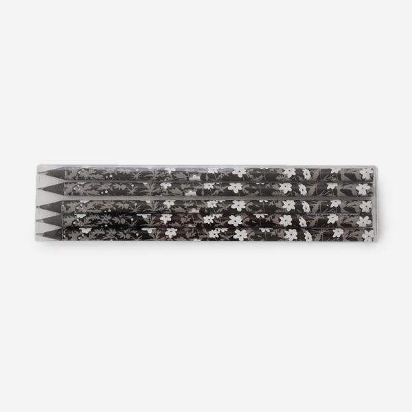 DESIGN LETTERS Flower by Arne Jacobsen PENCIL(5PCS)