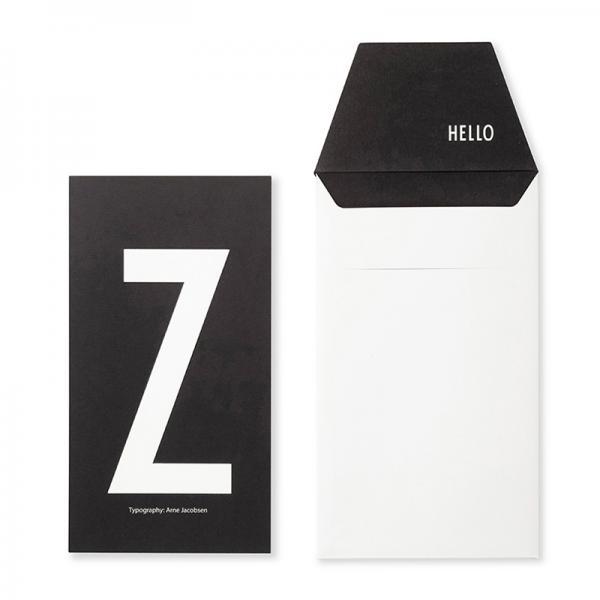 DESIGN LETTERS+Arne Jacobsen GREETING CARD Z