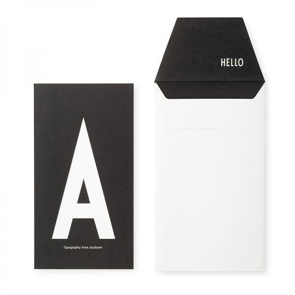 DESIGN LETTERS+Arne Jacobsen GREETING CARD A