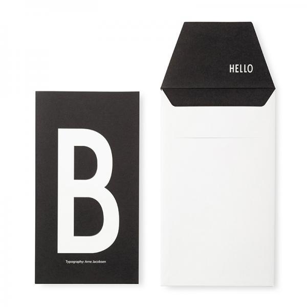 DESIGN LETTERS+Arne Jacobsen GREETING CARD B