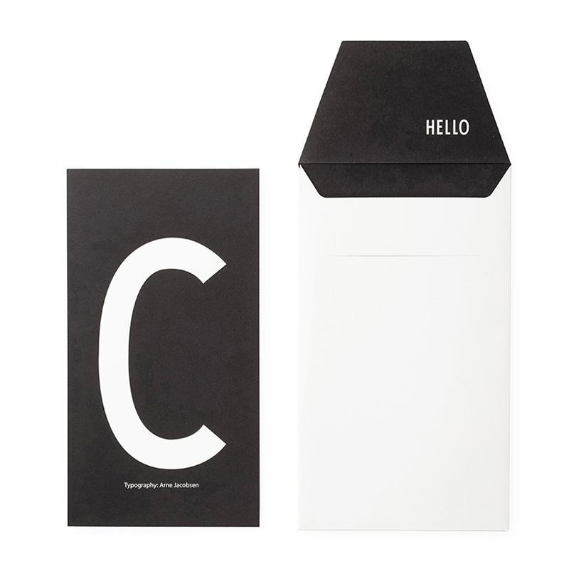 DESIGN LETTERS+Arne Jacobsen GREETING CARD C