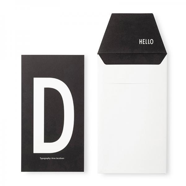 DESIGN LETTERS+Arne Jacobsen GREETING CARD D