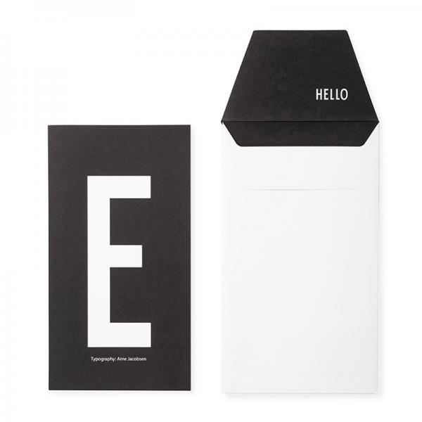 DESIGN LETTERS+Arne Jacobsen GREETING CARD E