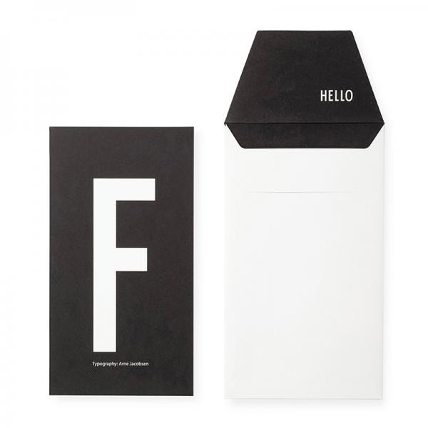 DESIGN LETTERS+Arne Jacobsen GREETING CARD F