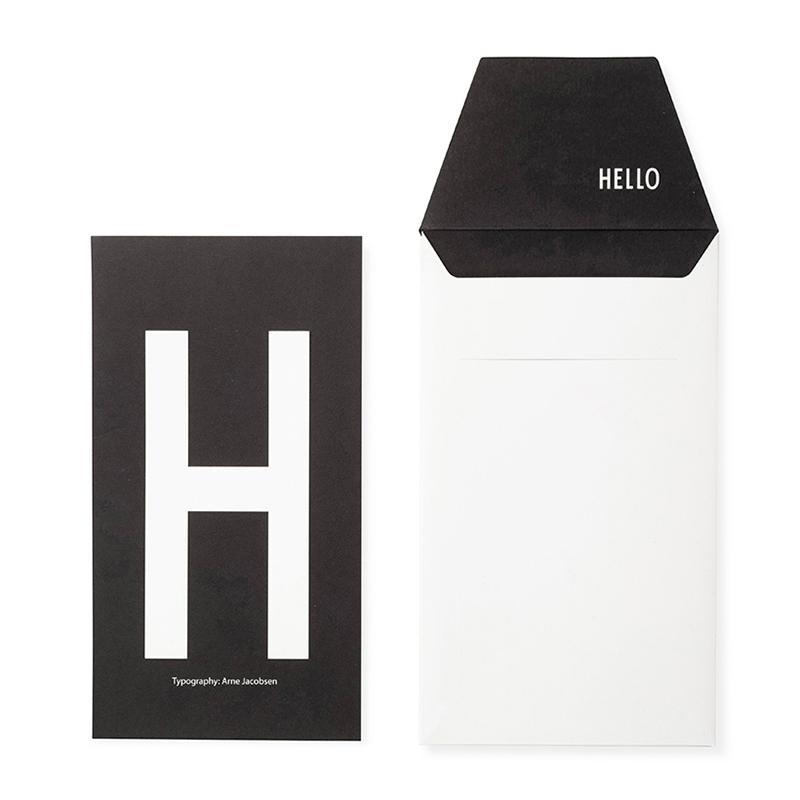 DESIGN LETTERS+Arne Jacobsen GREETING CARD H