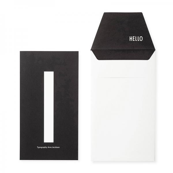 DESIGN LETTERS+Arne Jacobsen GREETING CARD I