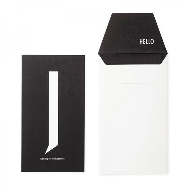 DESIGN LETTERS+Arne Jacobsen GREETING CARD J