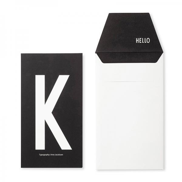 DESIGN LETTERS+Arne Jacobsen GREETING CARD K