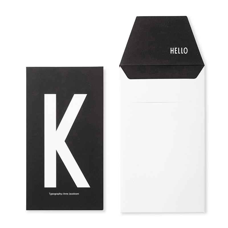 DESIGN LETTERS+Arne Jacobsen GREETING CARD K
