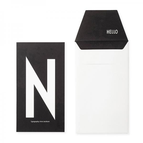 DESIGN LETTERS+Arne Jacobsen GREETING CARD N