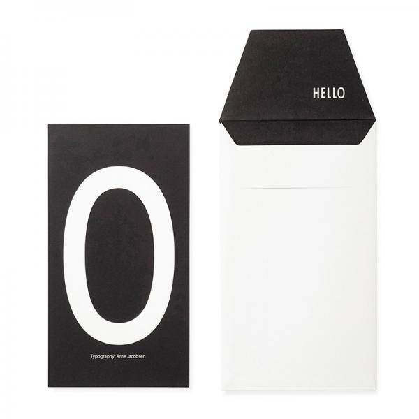 DESIGN LETTERS+Arne Jacobsen GREETING CARD O