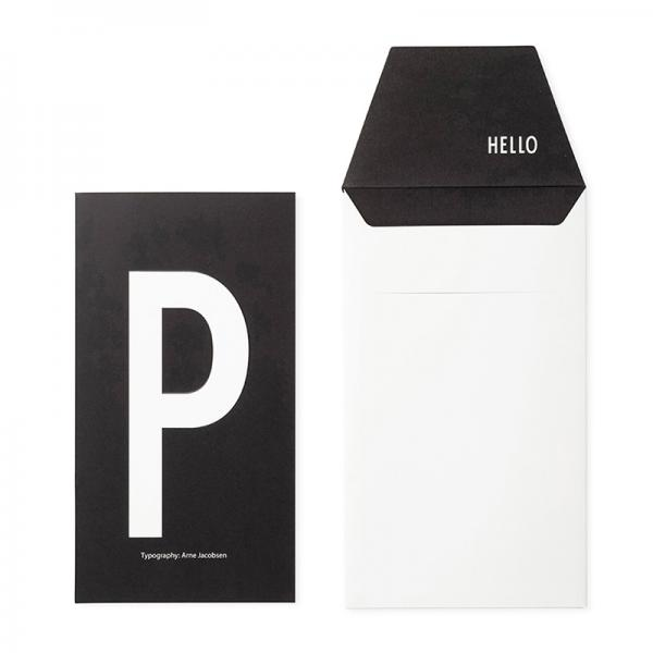 DESIGN LETTERS+Arne Jacobsen GREETING CARD P