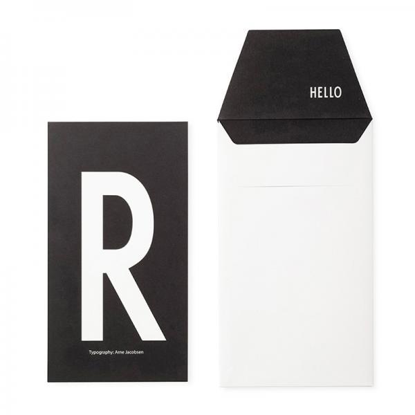 DESIGN LETTERS+Arne Jacobsen GREETING CARD R
