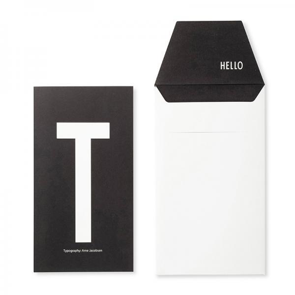 DESIGN LETTERS+Arne Jacobsen GREETING CARD T