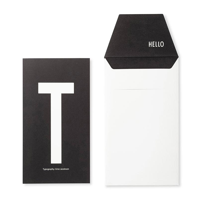 DESIGN LETTERS+Arne Jacobsen GREETING CARD T