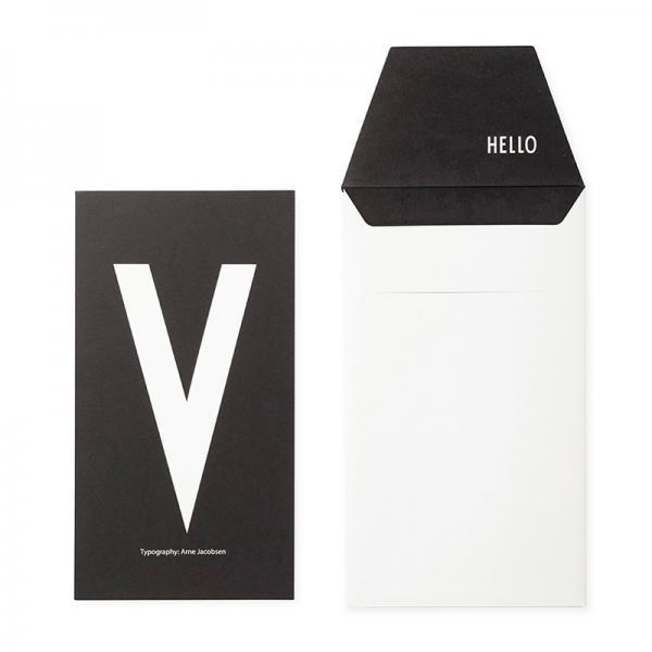 DESIGN LETTERS+Arne Jacobsen GREETING CARD V