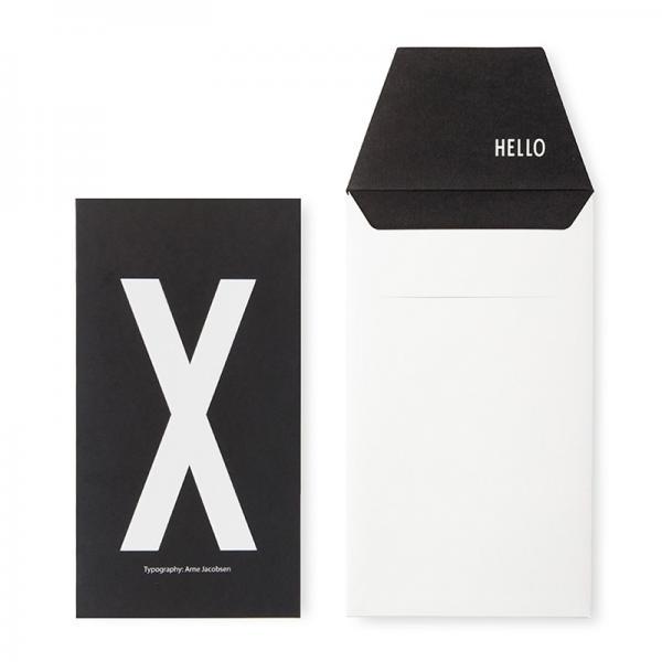 DESIGN LETTERS+Arne Jacobsen GREETING CARD X