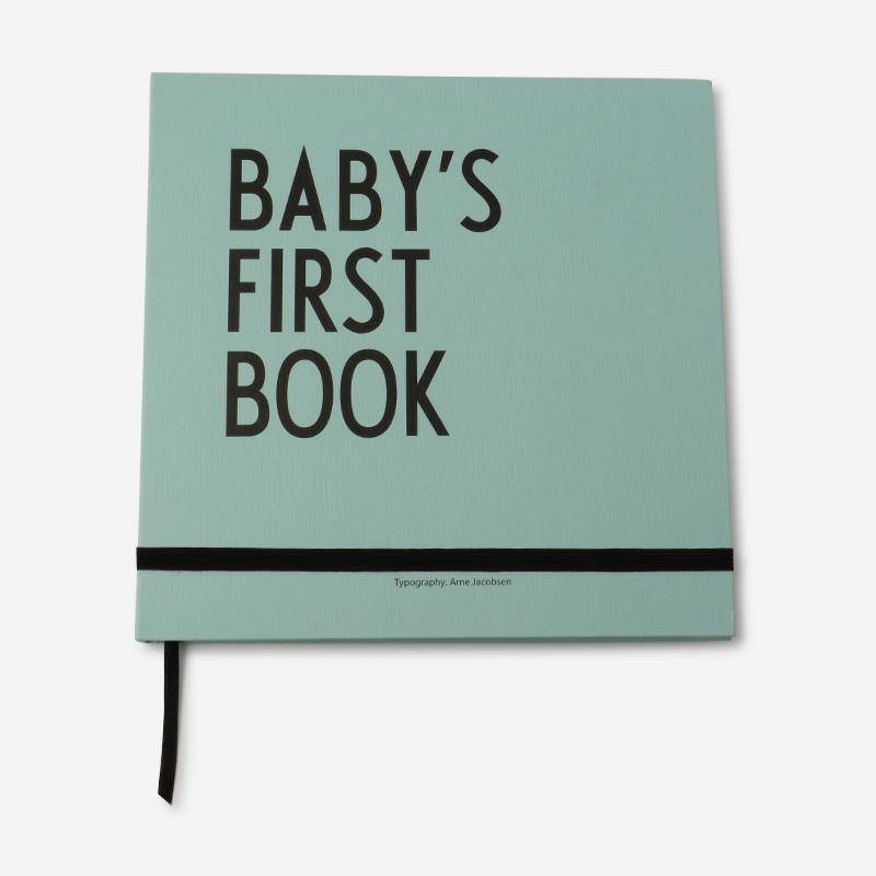 DESIGN LETTERS KIDS BABYS 1ST BOOK ターコイズ