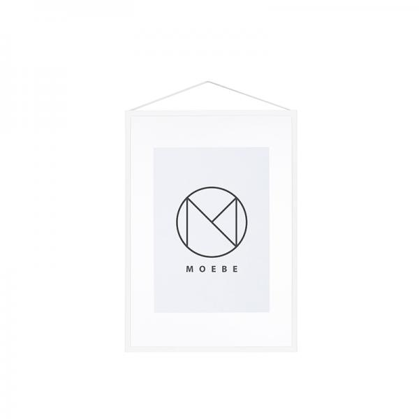 MOEBE フレーム A3 ホワイト