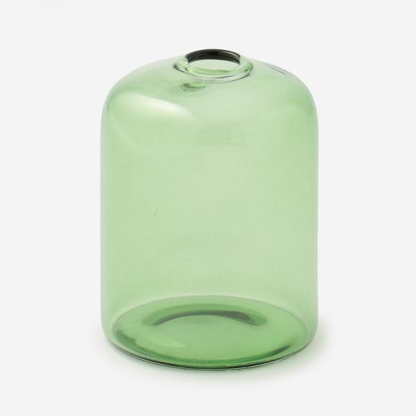 ドロワ カラーガラスベース Sサイズ グリーン