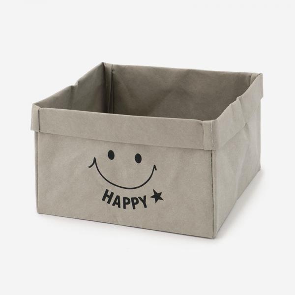 クラフトペーパーバッグ  BOX (L) 18cm×18cm