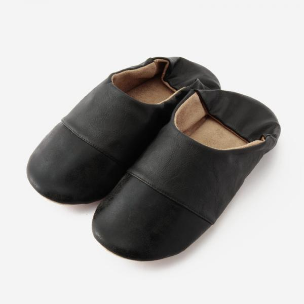 BADRUMⅡルームシューズ 23-24.5cm(M) ブラック×ブラック