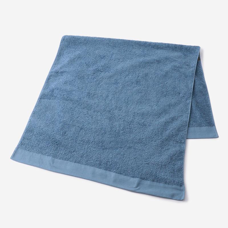 Relaxin' バスタオル 60×120cm ブルー