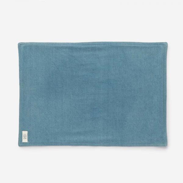 RISE&SHINE デニムテーブルマット 45×32cm ブルー