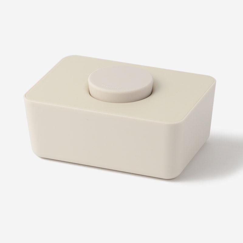 sarasa design B2Cウェットティッシュホルダー ホワイト