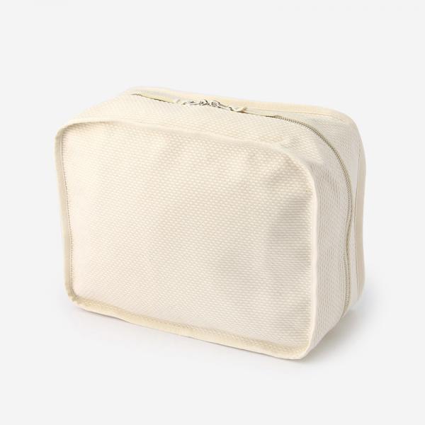 CaBas No.35 Pouch L White/White